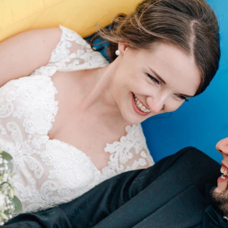 Seinerzeit, Schlepzig, Weidendom, Hochzeit, Hochzeitsfotograf, Raphael Kellner, Cottbus, Spreewald, Hüpfburg