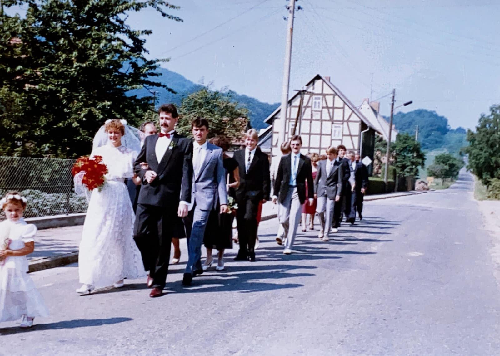Raphael Kellner, Podcast, Spreehochzeit, Hochzeit früher