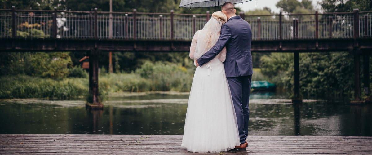 Hochzeitsplanung Strandhaus Lübben Beuchow Regen zur Hochzeit Hochzeitsfotograf Spreewald