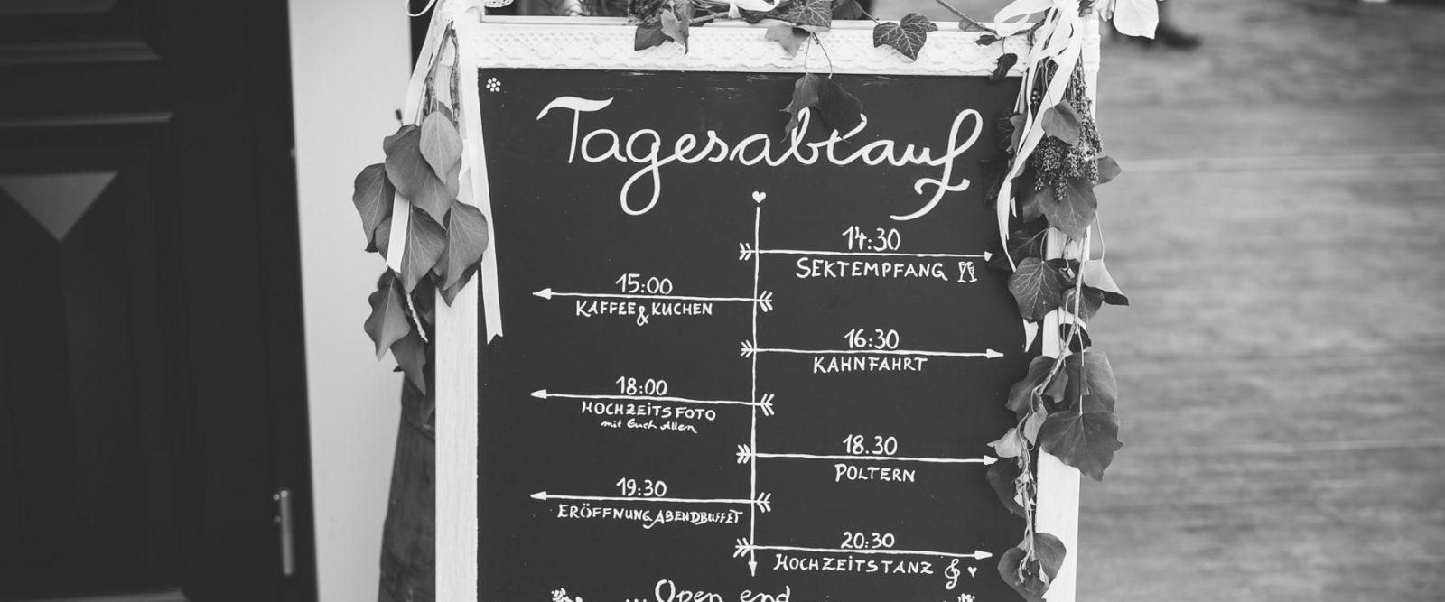 Hochzeitsplanung Zeitplanung Hochzeit Hochzeitsfotograf Spreewald Cottbus Raphael Kellner